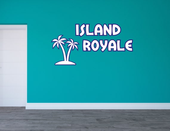 Wall Art Island Royale Roblox Unofficial - roblox island royale mobile