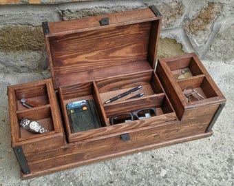 large wooden valet box  44d813bb24612