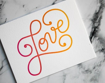 I Love You Card | Valentines | Cards for Her | Cute love you card | Boyfriend Card | Cute anniversary Card |  Wedding Day Card | XOXO
