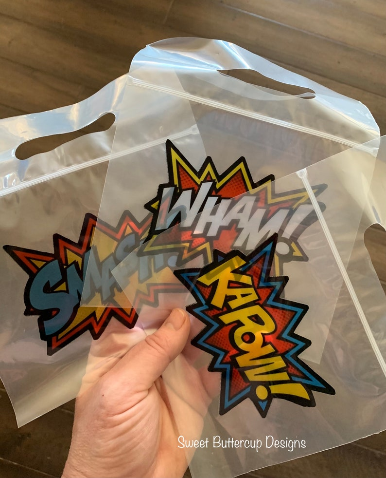 Superhero Party Bags Superhero Treat Bags Superhero Candy Bags Superhero Favor Bags