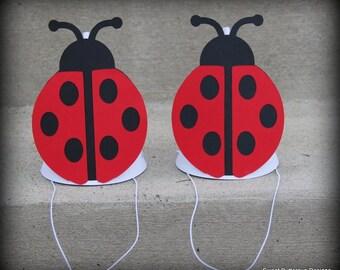 Ladybug Garden Party Hats