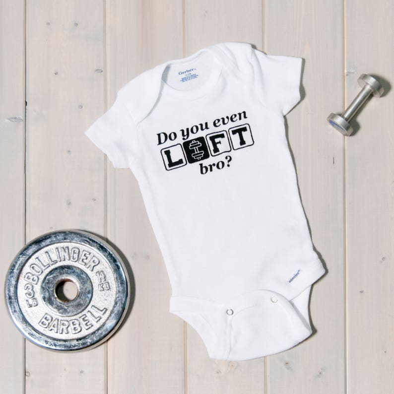 31782d4ee Do You Even Lift Bro Funny Gym Baby Onesie® Crossfit Baby