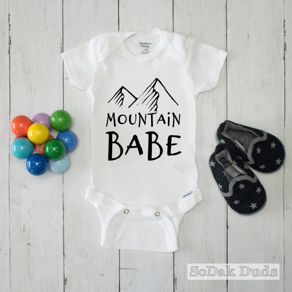 New baby Outdoors Newborn Onesie Mountains Baby Boy Eat Sleep Camp Baby Onesie\u00ae Baby Shower Gift Camping Pine trees Baby Girl