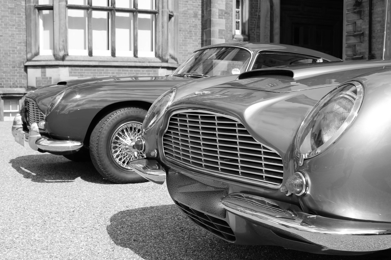 car photography. aston martin black and white print.   etsy