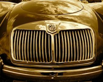 MG classic car
