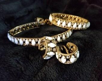 Antique Vintage DeLizza & Elster Juliana Jewelry Set 1950's GOOD CONDITION Antique Jewelry Vintage Necklace Antique Earrings Bracelets