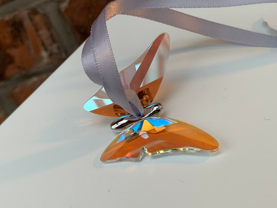 Swarovski® Crystal Butterfly Decoration