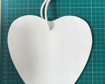 Wooden Hearts - Ready to Decorate