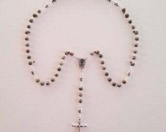 Ocean Jasper Rosary