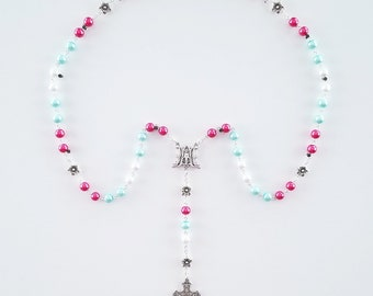 Cotton Candy Rosary