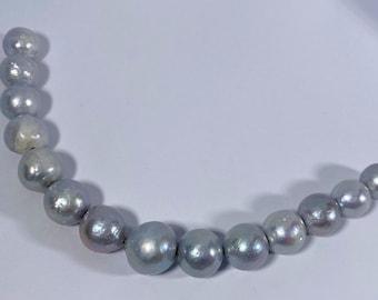 925 Sterling Silver Baroque Pearls So Unique! Dreamlike pearls apricotlavendel