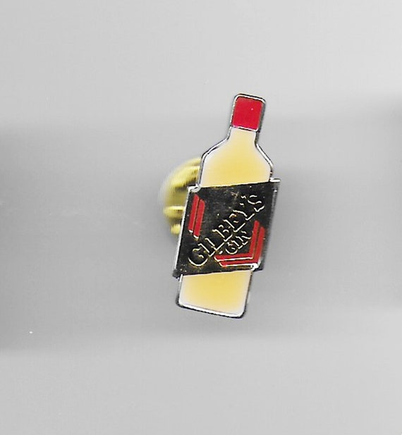 Vintage Beefeater Beer Pin Beefeater Beer Bottle Pin