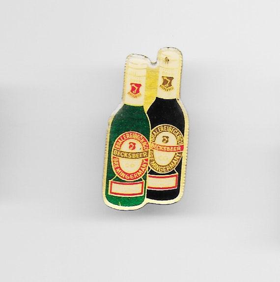 Vintage Heineken Enamel Hat Pin