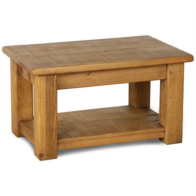 Rustic Plank Furniture New Real Solid Wood Chunky Style