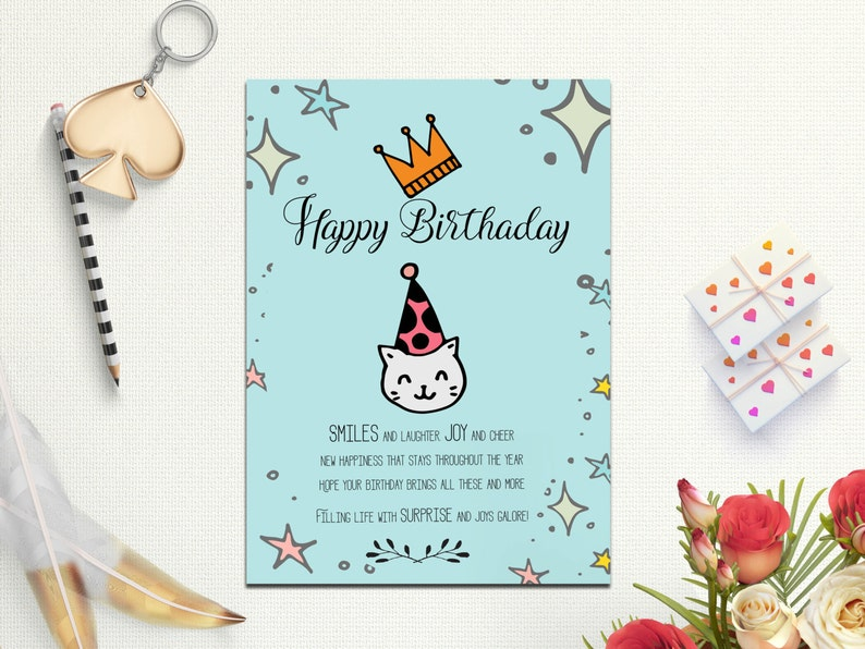 Happy Birthday Greeting Cards Card