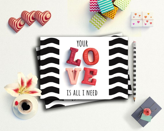 boyfriend card valentine printable romantic cards for him i
