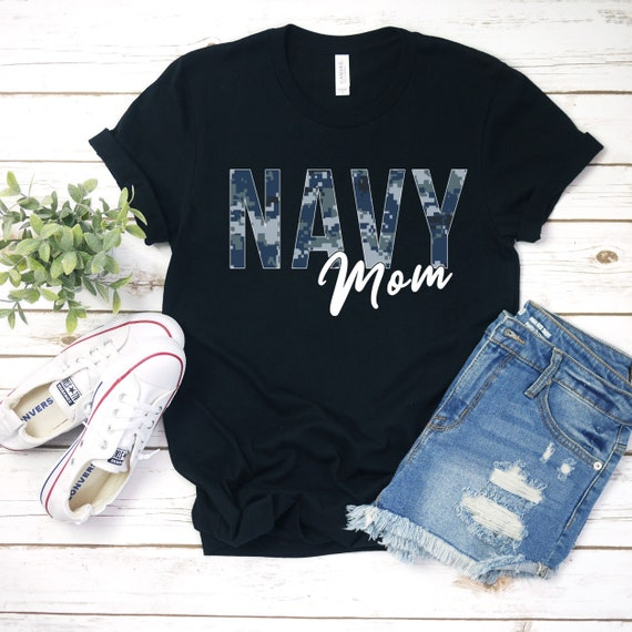 Navy Mom Shirt, Navy Graduation T-Shirts, Deployment Gifts, Homecoming Tshirt, Proud Navy Mom Shirt, Military Mom Shirts, Sailor Moms
