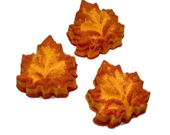 Maple Leaf Bath Bomb
