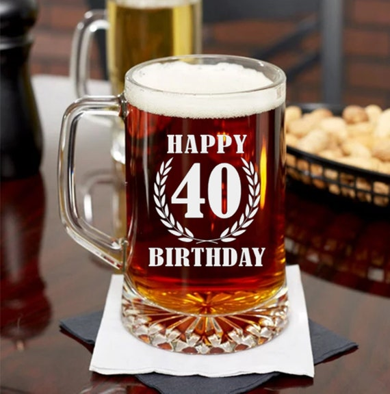 Happy 40th Birthday Gift Ideas For Men Or Women Turning 40