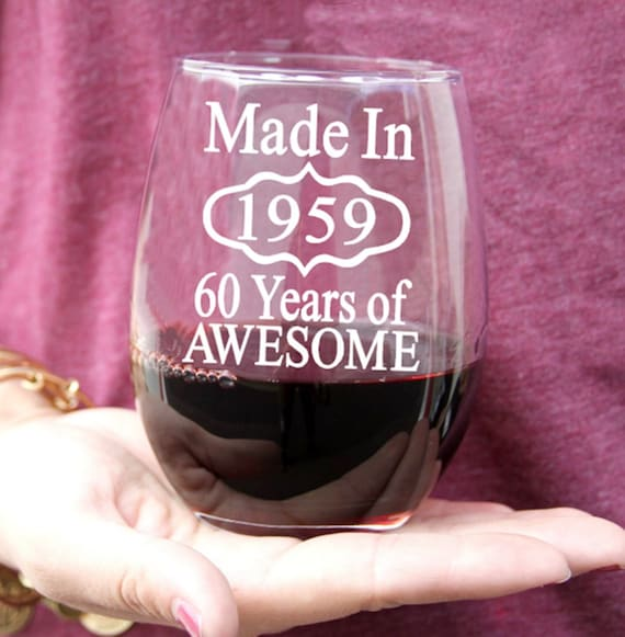 60th Birthday Gifts For Man Or Woman Wine