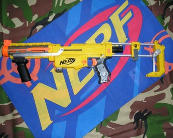 Nerf Recon CS-6 with Worker short dart conversion (Retailicon)