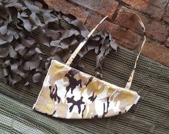 Desert camouflage blaster bag