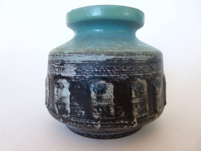 Veb Halsdensleben 3048 Vintage Vase Rare Vase Vintage Etsy