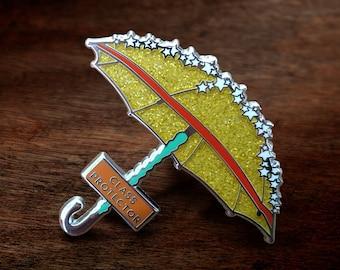 Buffy The Vampire Slayer: Class Protector Hard Enamel Pin (Gold Glitter Umbrella Buffy Summers)