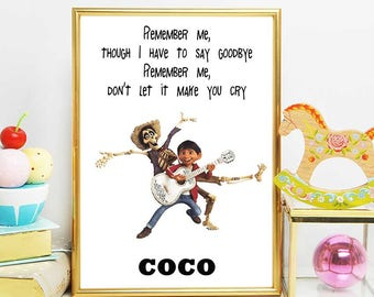 coco movie printable disney coco art coco quotes coco movie