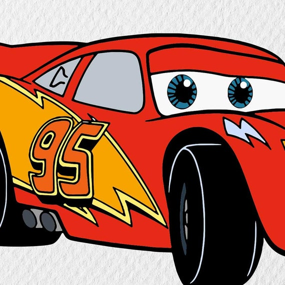photograph about Lightning Mcqueen Printable Decals named Lightning McQueen Printable, Disney Cars and trucks Celebration Print, Cars and trucks Birthday Reward, Nursery Decor, Little ones Automobiles Wall Artwork, Vehicles Topic