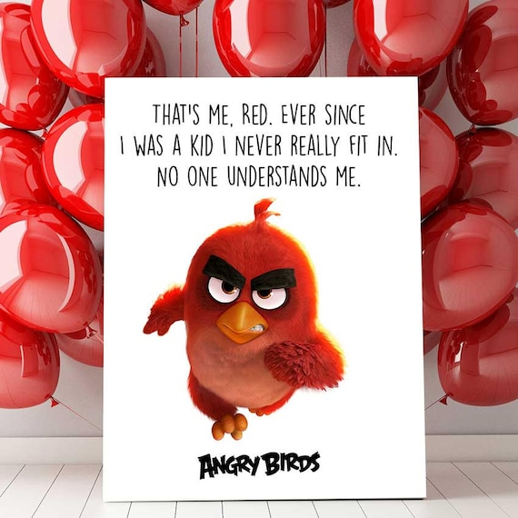 graphic about Angry Birds Printable named Offended Birds Celebration, Offended Birds Birthday, Offended Birds Printable, Crimson Quotation, Offended Birds Nursery, Offended Birds Decorations