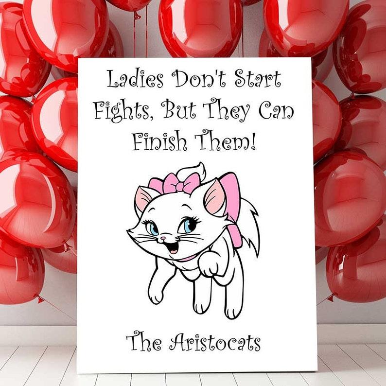 Aristocats Marie Zitieren Disney Print Aristocats Etsy