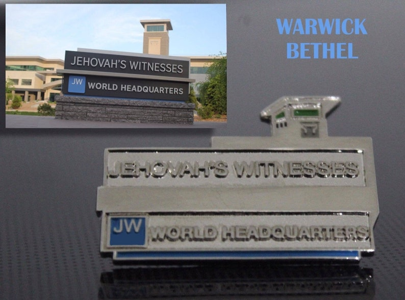 17b490d29643 Warwick Bethel Lapel Pin 5 pieces JW.ORG Watchtower   Etsy