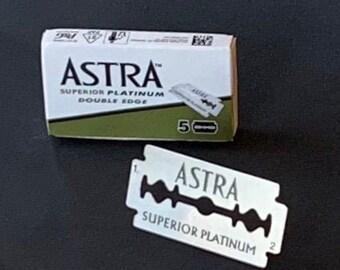 Astra Razor Blades - 5 Pack