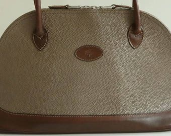 881813330e6 Mulberry handtas/schoudertas in leer grijs scotch