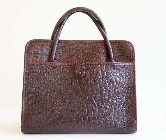 Mulberry Kelly Top Handle Bag Brown Congo Leather