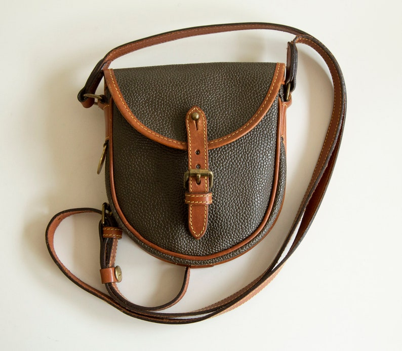 ddf7b78d26f0a Vintage Mulberry Cross Body Bag Green Schotchgrain