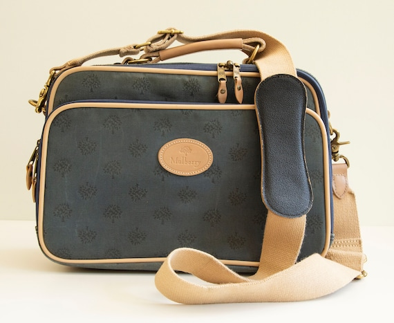 Mulberry Mini Suitcase Messenger Bag School Bag Bl