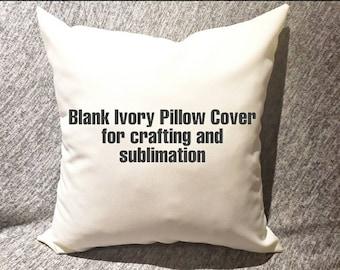 Blank Pillows Etsy