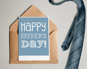 Happy Father's Day-printable card