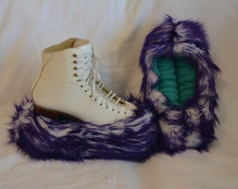 Extra Fluffy Fuzzy Ice Skating Soakers