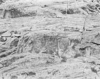 Rock Print, Rock Wall Art, Nature Decor, Abstract, Printable Art, Instant Download, Home Decor, Office Decor, Wall Decor, Black and White