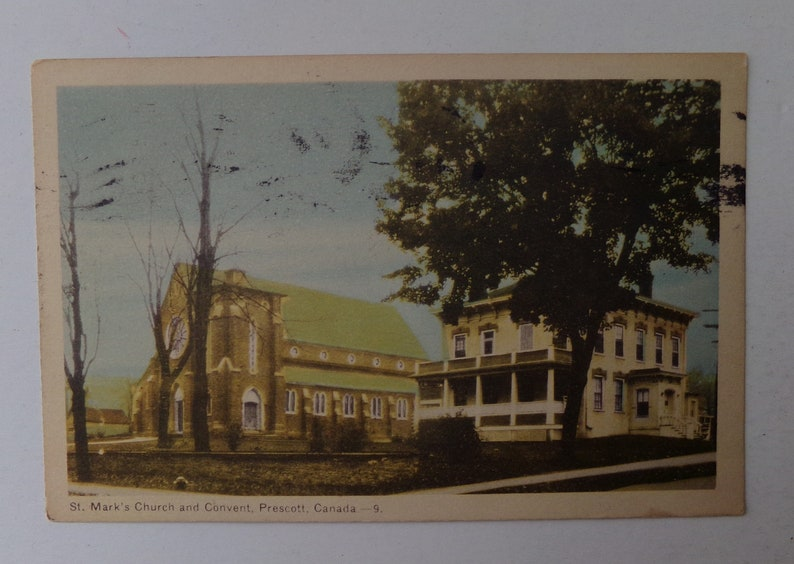 3 Canadian Postcards Stamped 1951