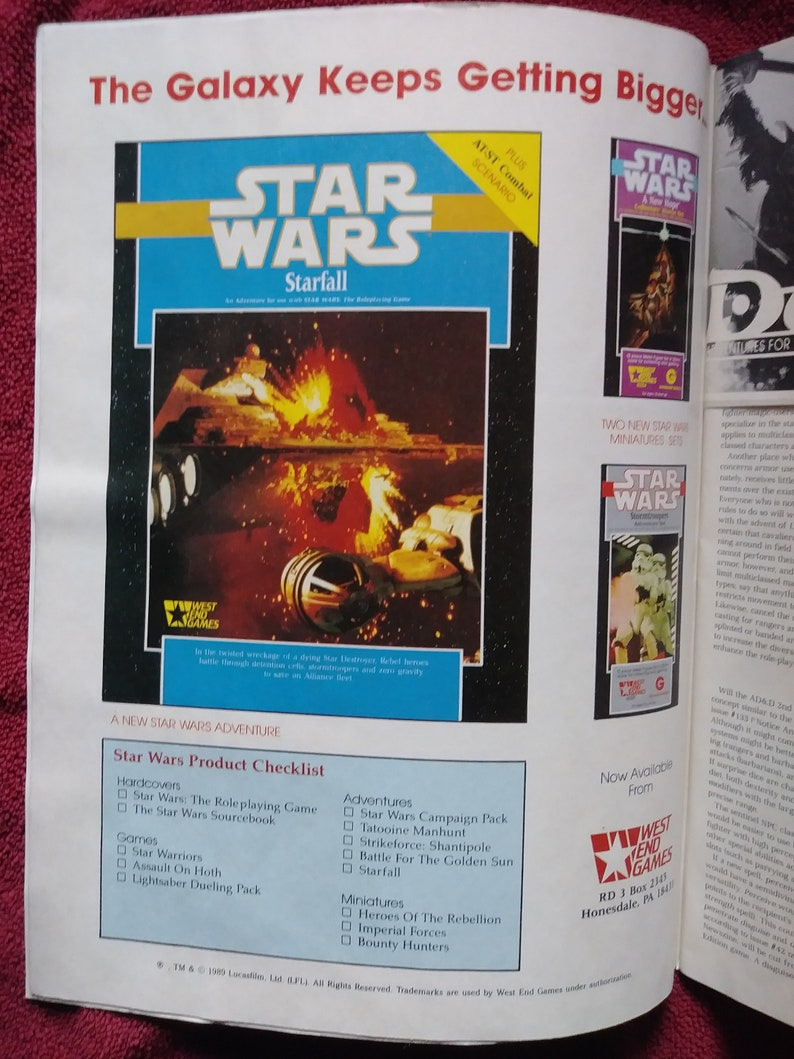 Dragon Magazine #142 February 1989