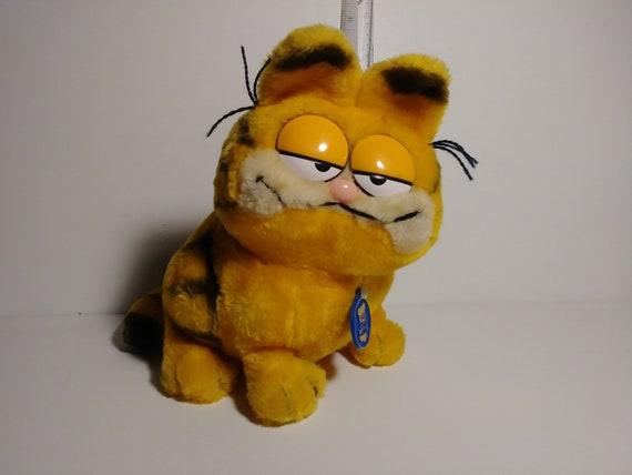 Garfield Large By Dakin 1981 Etsy