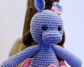 Amigurumi hippo, Hippo Amigurumi crochet animals