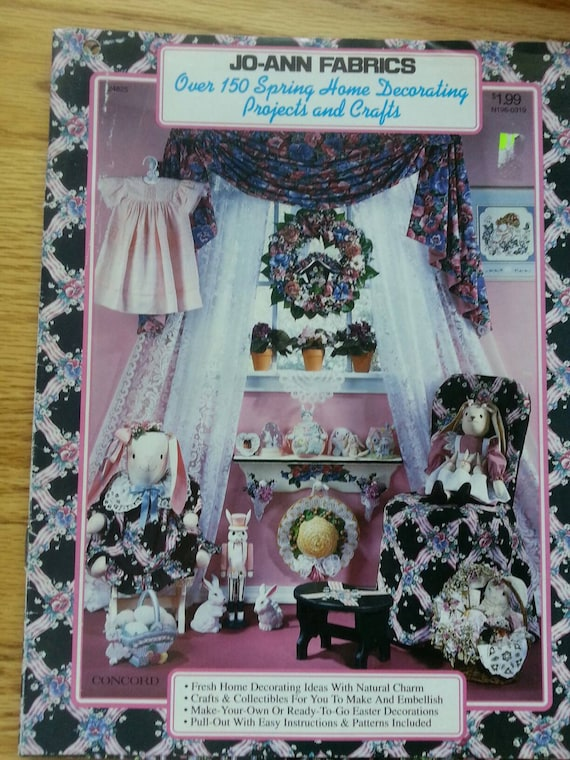 Joann Fabrics Spring Home Decorating Projects And Crafts