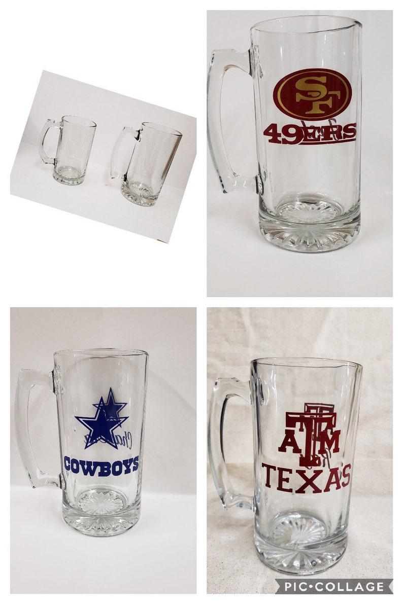 Beer Mug Personalized Sports Name Team Wedding Men Etsy