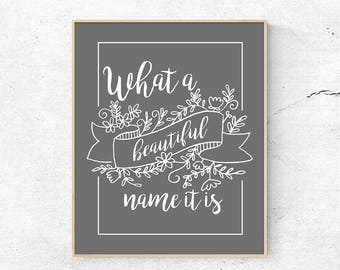 Printable Christian Worship Song Lyrics Quote Art You Are | Etsy