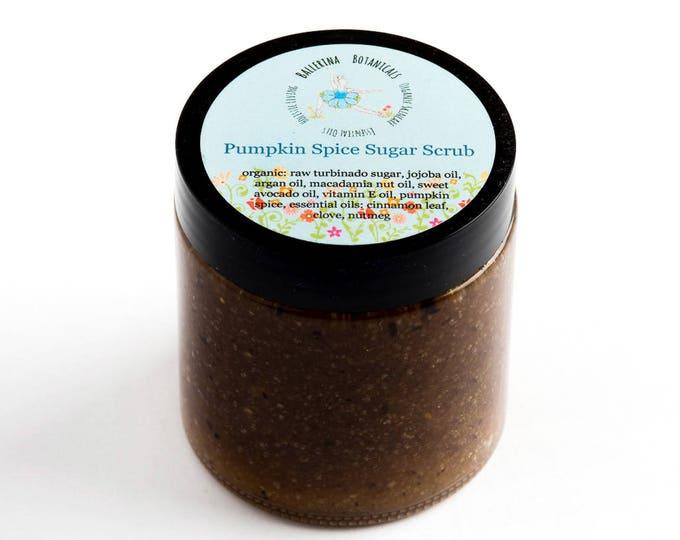 Sugar Scrub with Rooibos, Cinnamon, Clove, Nutmeg, & Ginger Essential Oils for Exfoliation and Dry Skin | Body Scrub | Body Polish (4 oz)